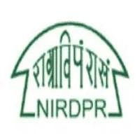 NIRDPR Recruitment 2021